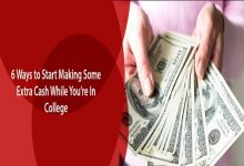 Photo of 6 Ways to Start Making Some Extra Cash While You're In College